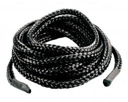Cuerda de seda para bondage negra